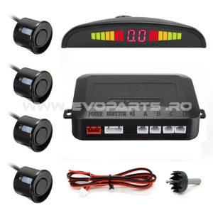 Kit 4 Senzori Parcare Auto Display LED Universali