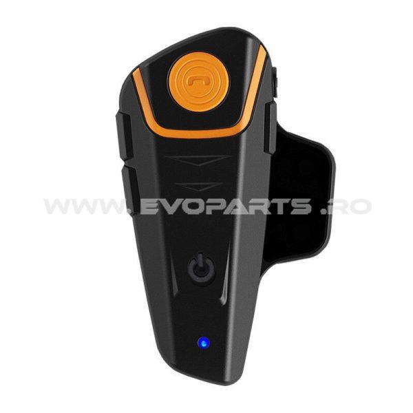 Intercom Casca Moto Sistem Bluetooth Telefon