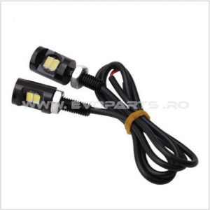 Set Becuri LED Lumina Numar Inmatriculare Waterproof