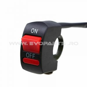 Intrerupator Buton ON OFF Ghidon Motocicleta ATV