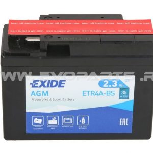 Baterie EXIDE AGM 12V 2.3AH (YTR4A-BS) Fara Intretinere