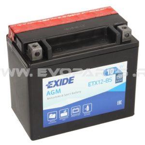 Baterie EXIDE AGM 12V 10AH (YTX12-BS) Fara Intretinere