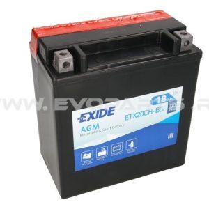 Baterie EXIDE AGM 12V 18AH (YTX20CH-BS) Fara Intretinere