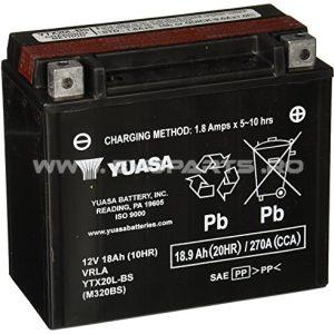Baterie YUASA AGM 12V 18AH (YTX20L-BS) Fara Intretinere