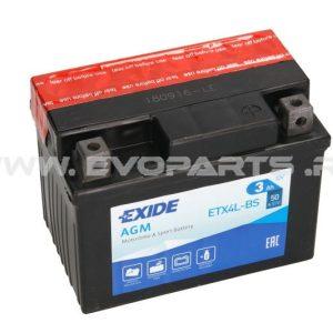 Baterie EXIDE AGM 12V 3AH (YTX4L-BS) Fara Intretinere