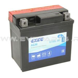 Baterie EXIDE AGM 12V 4AH (YTX5L-BS) Fara Intretinere