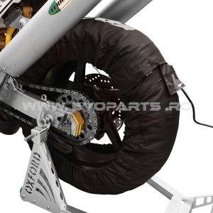 Set Incalzitoare Roti Anvelope Circuit Pista Moto OXFORD
